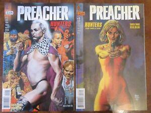 Preacher-15-amp-16-DC-Vertigo-Ennis-Dillon-Hunters-Part-3-and-4-VF-NM