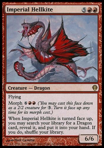 Magic MTG Archenemy VO Imperial Hellkite Escouflenfer impérial
