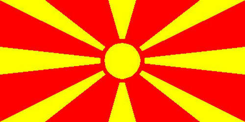 New Macedonia 3/' X 2/' 3ft x 2ft Flag With Eyelets Premium Quality