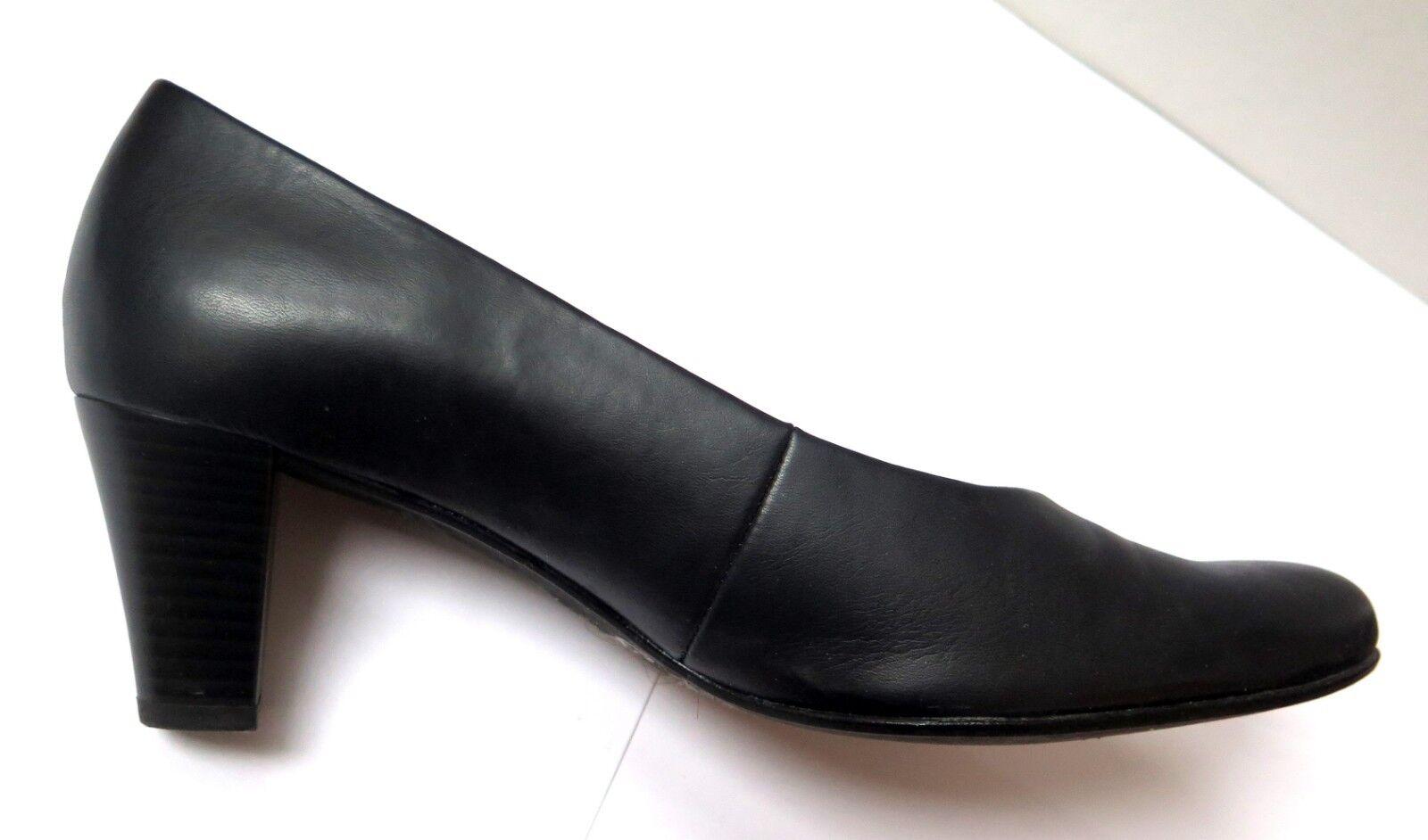 Gabor comfort 46.170 Damen Pumps, schwarz, Größe 41, Weite G, Soft Move