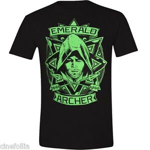 Green Arrow The Emerald Archer T-Shirt DC Comics Sizes S-3X NEW