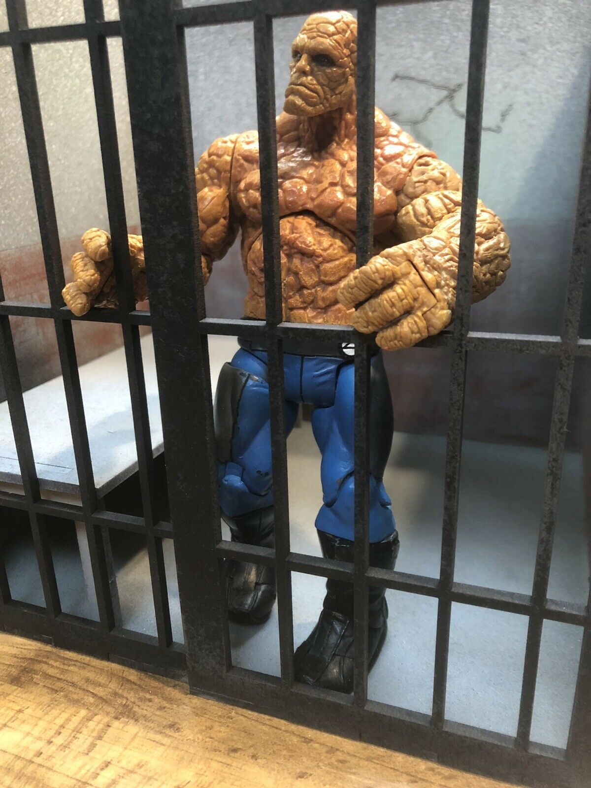 Jail Prison Cell Hand Built Diorama For 6  7  Action Figures 1 10 1 12 Scale