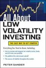 All About Low Volatility Investing by Peter Sander (Paperback, 2014)