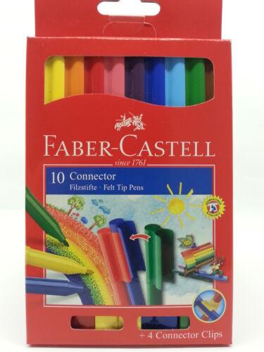 Faber-Castell 10er Connector Filzstifte