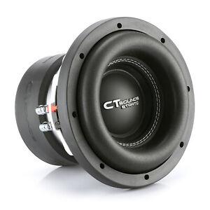 "CT Sounds Car 8 Inch Subwoofer Strato 8"" Dual 2 Ohm D2 600w Watt RMS Audio Sub"