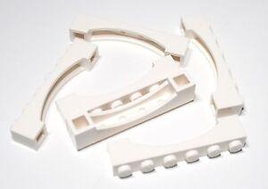 Weiß, White Brick 1x6 Raised Arch Neu New 4 X lego 92950 Lego Bogen