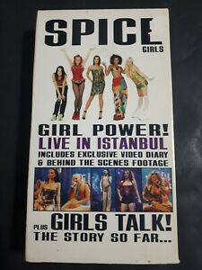 Spice-Girls-Live-In-Istanbul-VHS-1998-Includes-Exclusive-Video-Diary-amp-More