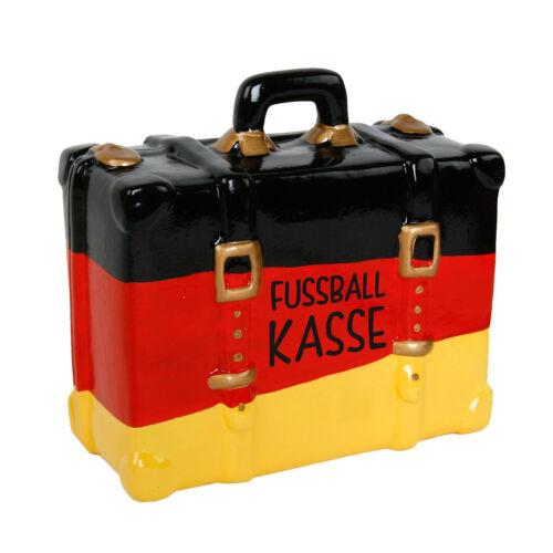 Spardose Sparbüchse Sparkoffer Deutschland schwarz-rot-gold schwarz-rot-gelb