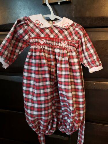 Cotton Baby Top with Embroidery and Rick Rack NWOT