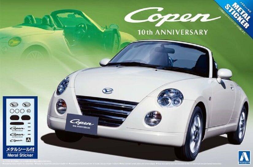 1 24 Daihatsu Copen 10th Anniversary Edition  Plastic Model Kit
