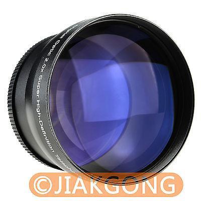 58mm 58 mm 2.0x TELE Telephoto LENS for Digital Camera DSLR