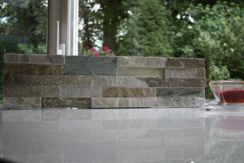 1 Muster Natursteinwand Verblender Riemchen Echtstein PO14-1 Fliesen 35€ //m²