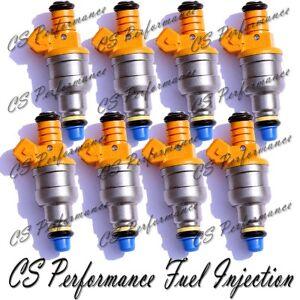 8 Fuel Injectors 19Lb OEM Bosch III for 1993-2003 Ford F-150 4.6//5.0//5.4//5.8L V8