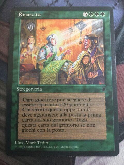 Mtg, Rebirth. Italian Legends Rare.