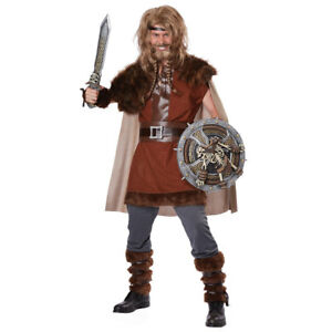 Details About Mens Mighty Viking Halloween Costume