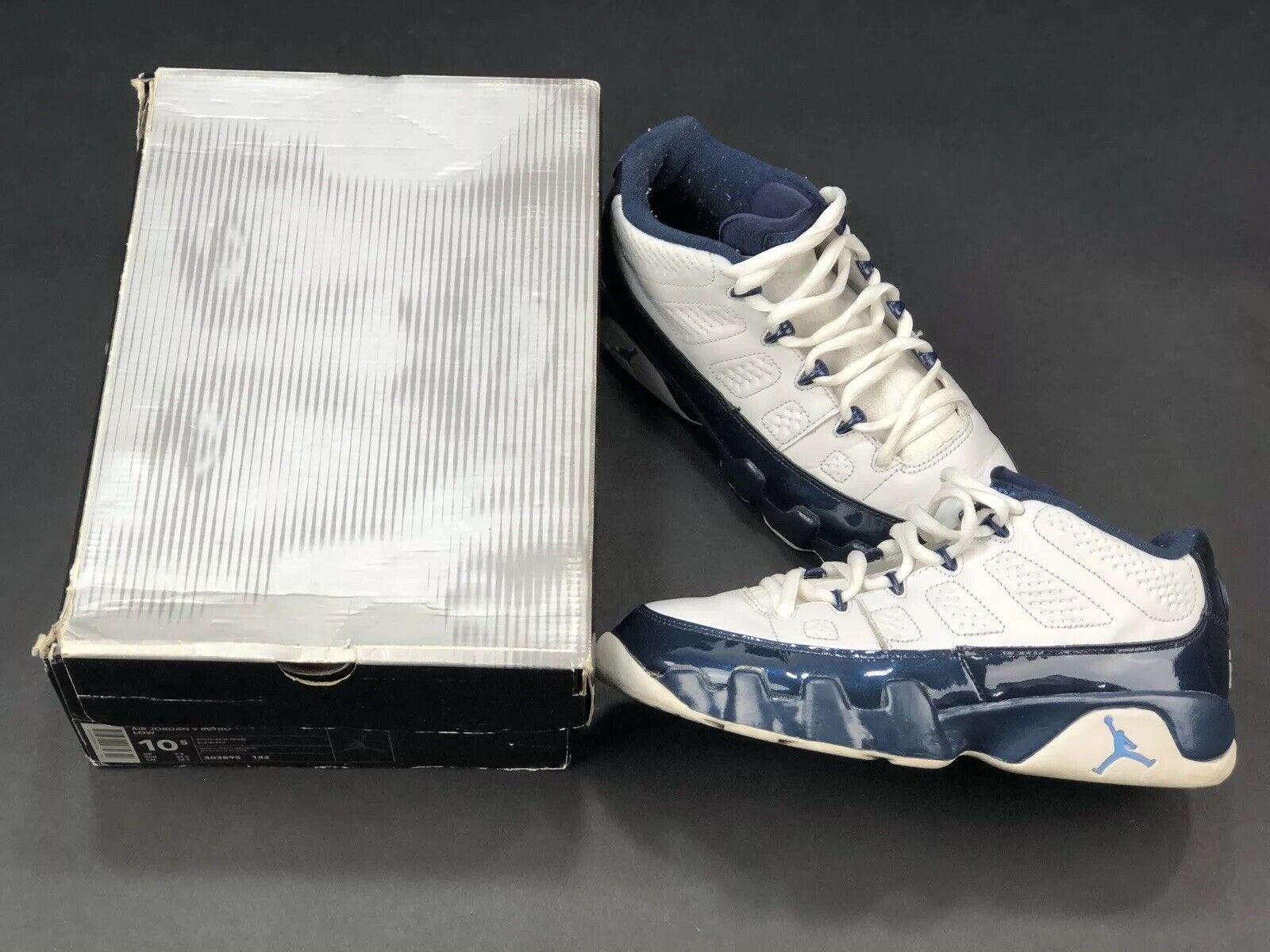 Nike Air Jordan Pearl bluee UNC 9 Low OG 2002 Rare Kith Retro 23 Infrared 10.5