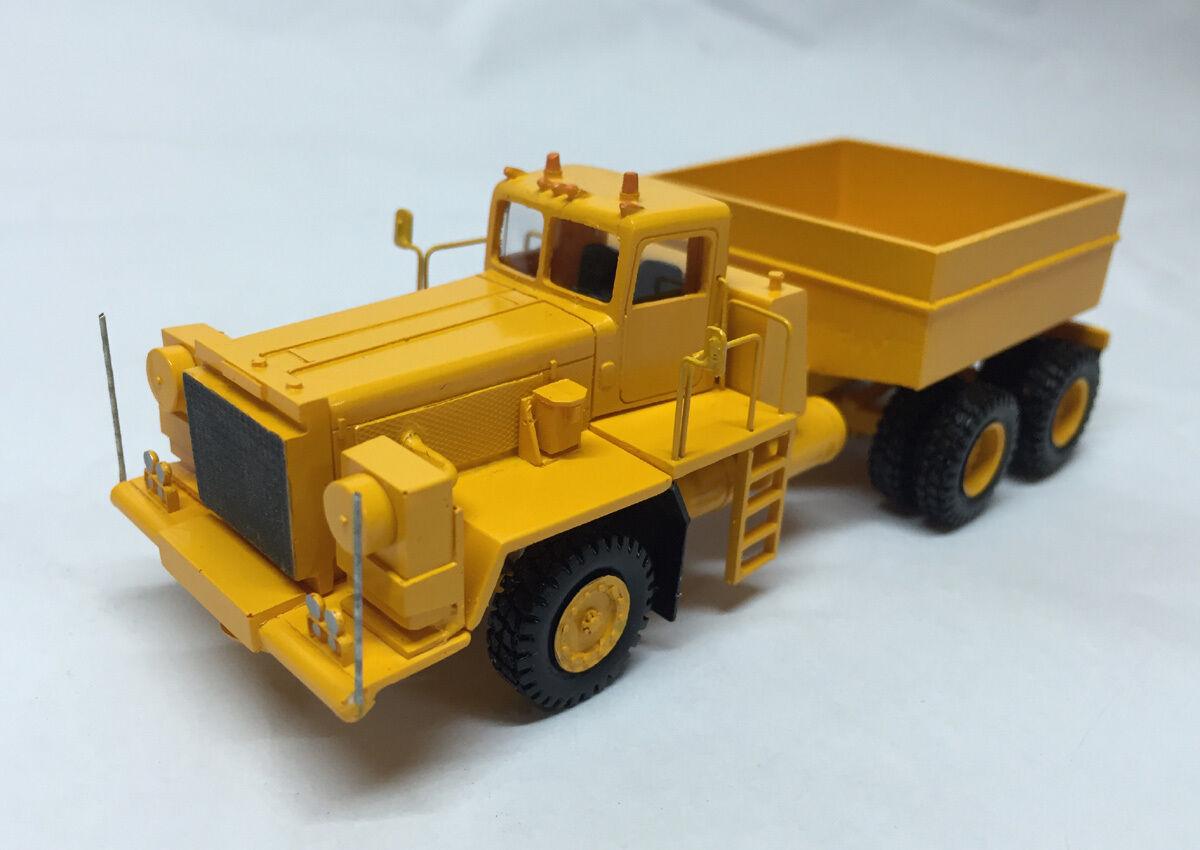 Terminé modèle Resin HO 1 87  Pacific p12w 6x4 Prime Mover-FanKit Models  protection après-vente