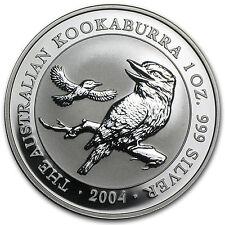 2004 Australia 1 oz Silver Kookaburra BU - SKU #9114