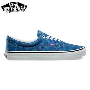 VANS Scarpe SHOES Era LIBERTY Blue/Floral SKATE Originali NUOVE New UOMO Donna