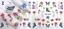 Adesivi-Unghie-Decalcomanie-Nail-Art-WATER-Decals-Stickers-Lavande-Fiori-Farfall miniatuur 12