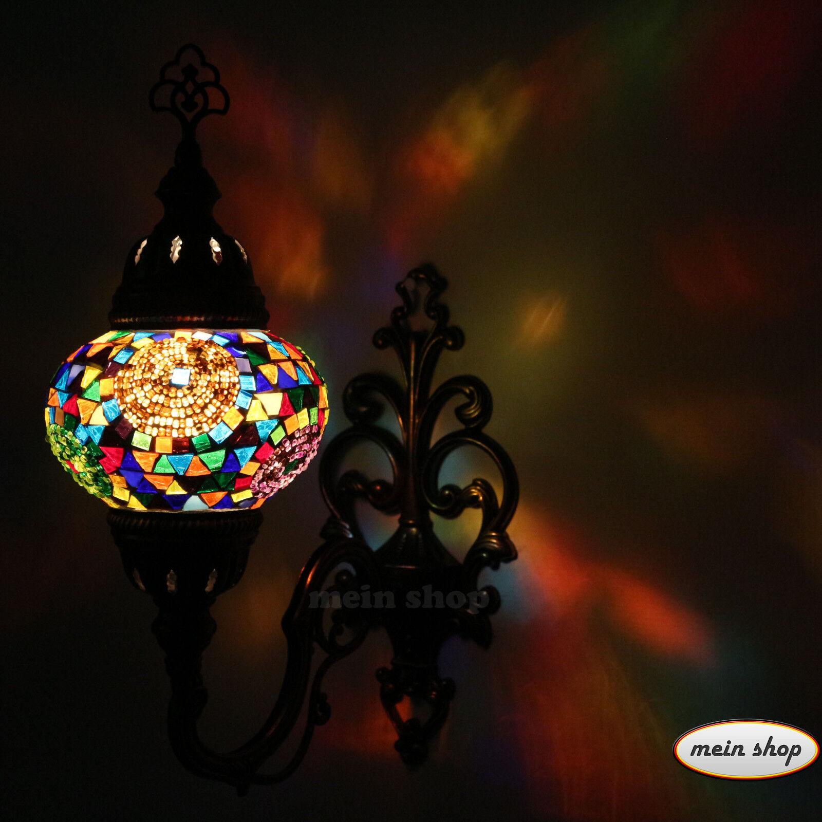 Lampe Murale Mosaïque Mur Lampe Turquie Oriental Mosaïque lampe murale éclairage Oriental Turquie Lampe M 105869