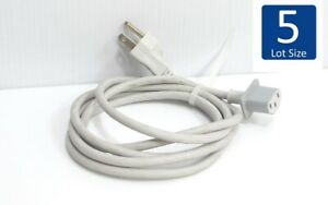Lot-of-5-Apple-Power-Cord-Rectangular-6ft-for-Cinema-Display-Mac-Pro-G5-Tower