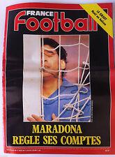 France Football du 14/01/1992; Maradona régle ses comptes/ Le Graet