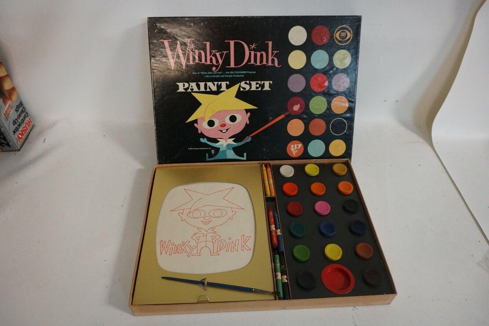 vendendo bene in tutto il mondo 1950s 1950s 1950s Vintage Winky Dink e You Paint Set giocattolokraft CBS TV MIB  AF75  per offrirti un piacevole shopping online