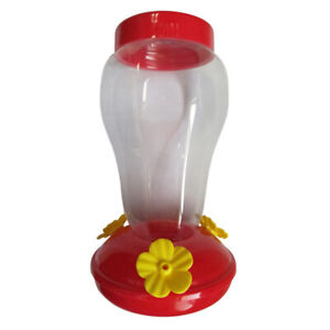 Garden-Home-Plastic-Hummingbird-Birds-Water-Feeder-Bottle-Wall-Hanging-Bowl-NEW