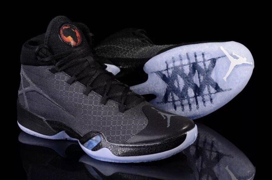 Nike Air Jordan 30 XXX  Black Cat Shoes 811006-010 Black Grey Casual wild