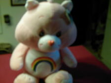 "Care Bears""Cheer&Bed Time Bear""Extra Large 26&29"" Pink&Blue.Cheer Tags on ear"