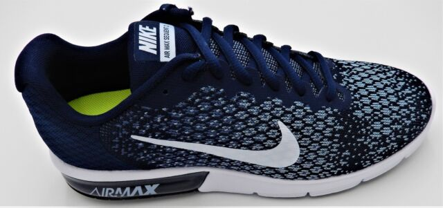 a2be80c4d06dc4 NIKE MENS AIR MAX SEQUENT 2 MULTIPLE SIZES BLUE WHITE 852461-400 AIRMAX