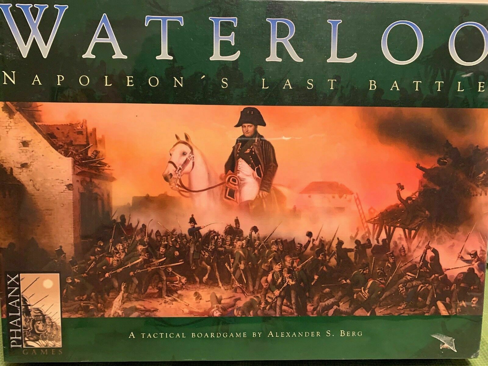 Waterloo Napoleon's Last Battle tavola gioco - nuovo  SEALED  garantito