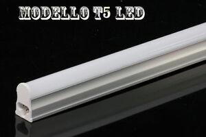 Plafoniera Con Tubo Led : Neon tubo led t5 completo di plafoniera lampada en 60 90 120cm luce