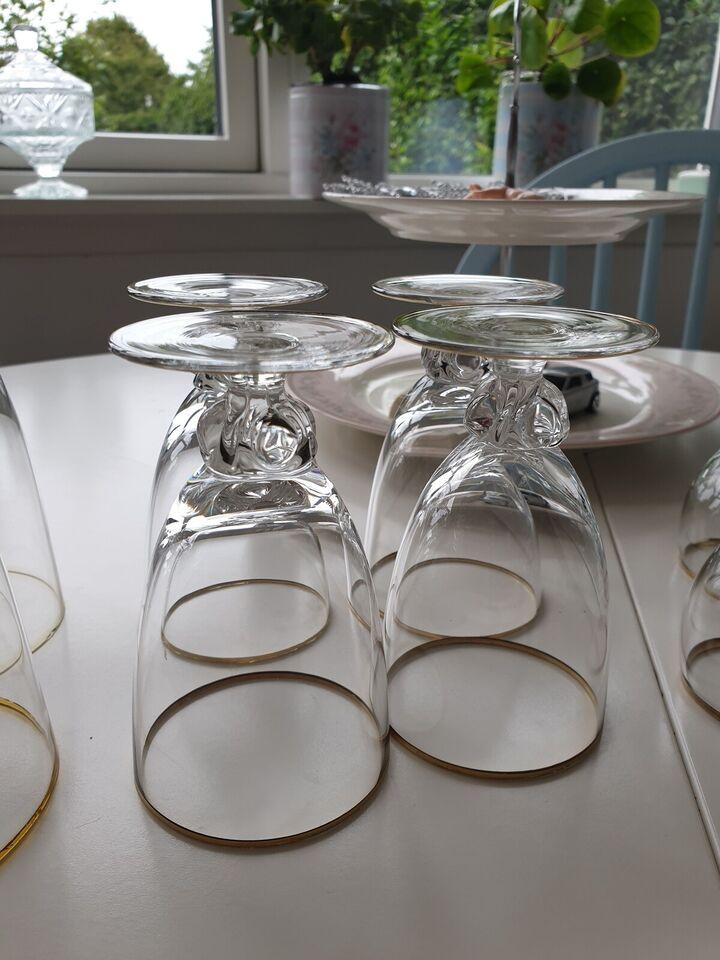 Glas, Glad med guldkant, Diverse