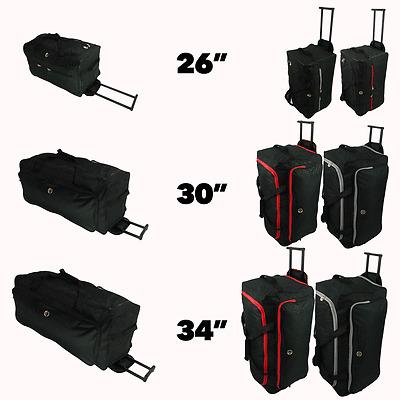 Extra Large Travel Luggage Wheeled Trolley Holdall Suitcase Case Duffle Bag XL