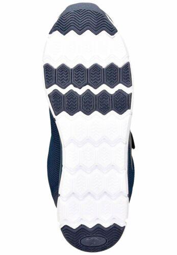 Sport-zapato de velcro azul zapatillas de deporte cortos zapatos zapatillas casual 42