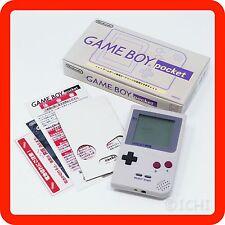 [BOXED EXC+++] GameBoy Pocket Gray color Nintendo Handheld Console