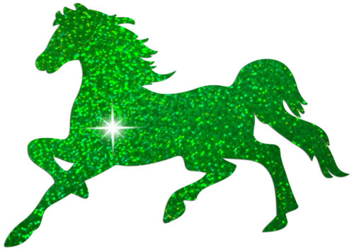 HORSE GALLOP IRON-ON HOTFIX BLING TSHIRT HEN NIGHT PARTY TRANSFER APPLIQUE patch