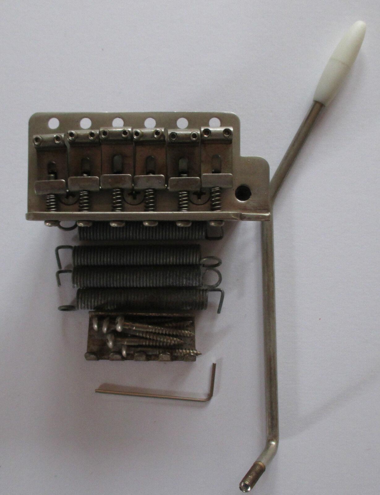Q Parts 57er vintage Tremolo Stahl Sattel steel block super geaged