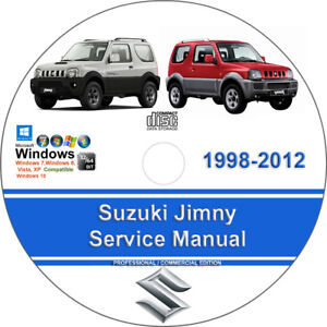 Suzuki       Jimny    19982012    Factory    Workshop Service Repair