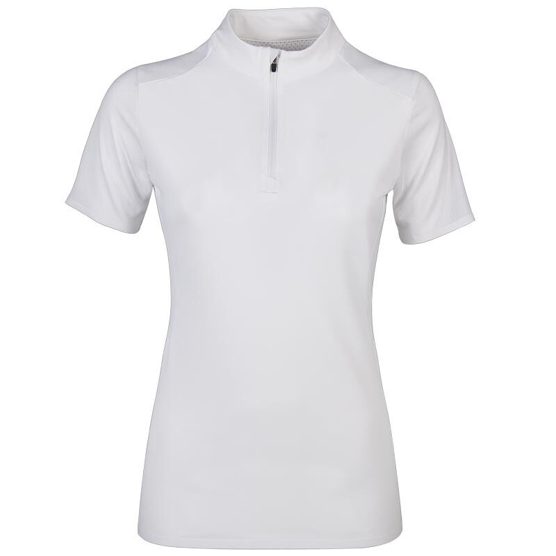 Equiline Briony Polo Shirt White Small