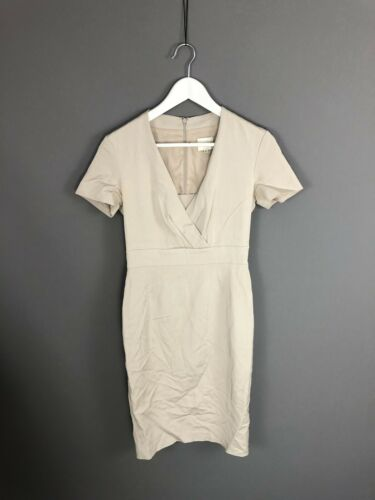 Reiss Women's Size Condition Uk8 Great Party Dress Beige 0rqEwg0