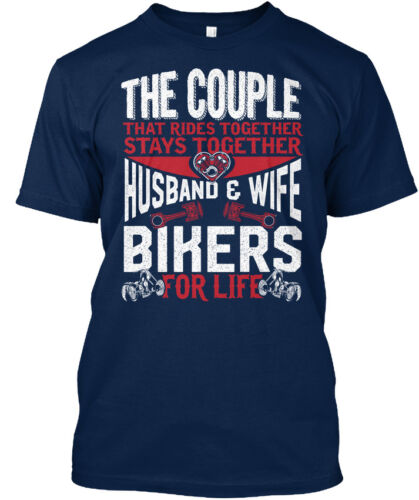 Husband And Wife The Couple That Standard Unisex T-shirt Bikers For Life