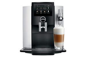 New Jura S8 Moonlight Silver Superautomatic Espresso Machine