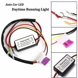 Running-Light-Control-Car-DRL-Lamp-Relay-Harness-ON-OFF-Automatic-Dimmer