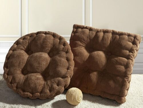 Soft Corduroy Cotton Cushion Pad Chair Seat Cusion Car Office Use Cushion Pad LD