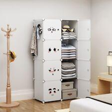 New 40pcs Kids Plastic Rangers White Clothes Storage shirts Trousers Home