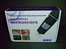 Amscope Handheld Digital Usb Microscope Windows Amp Mac 20 Mpix New In Box