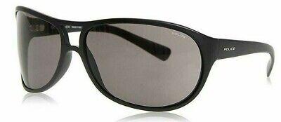 New Authentic POLICE SPECTRUM 2 S1864 0U28 Black//Grey Lenses 95mm Sunglasses